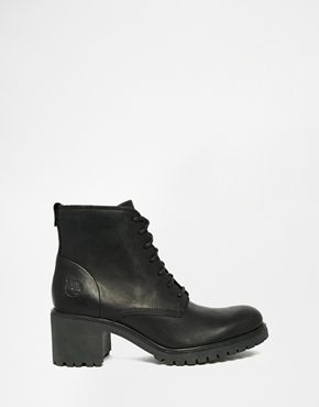 Buy Women Shoes / Timberland Averly Lace Up Black Heeled Boots