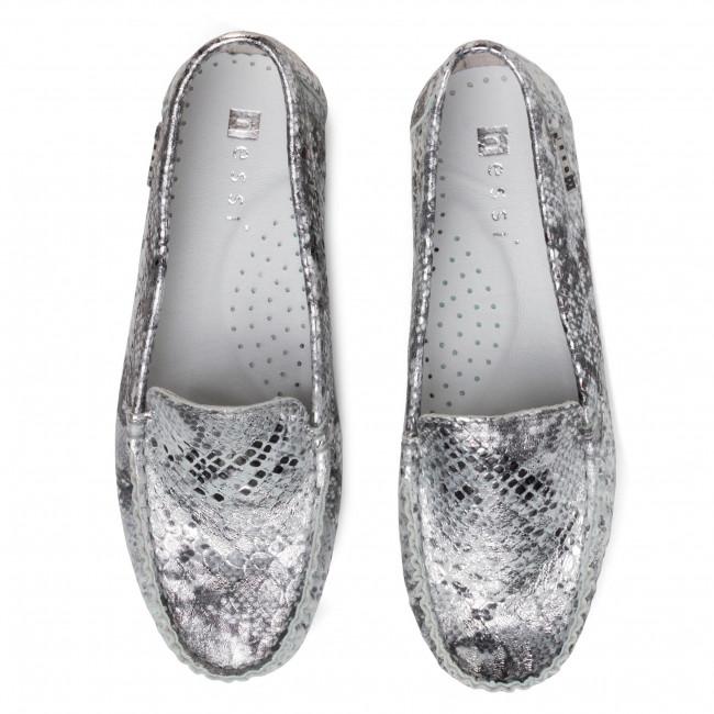Mokasyny Nessi 17130 Srebro Ps Mokasyny Polbuty Damskie Eobuwie Pl Slip On Sneaker Shoes Sneakers