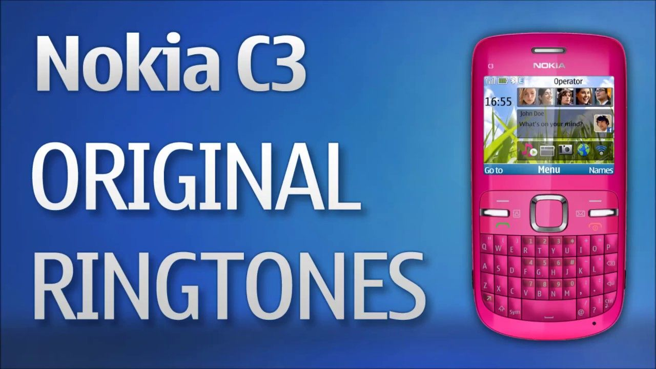 Nokia C3 Original Ringtones Useful Item Pinterest The Originals 9300 Service Manual