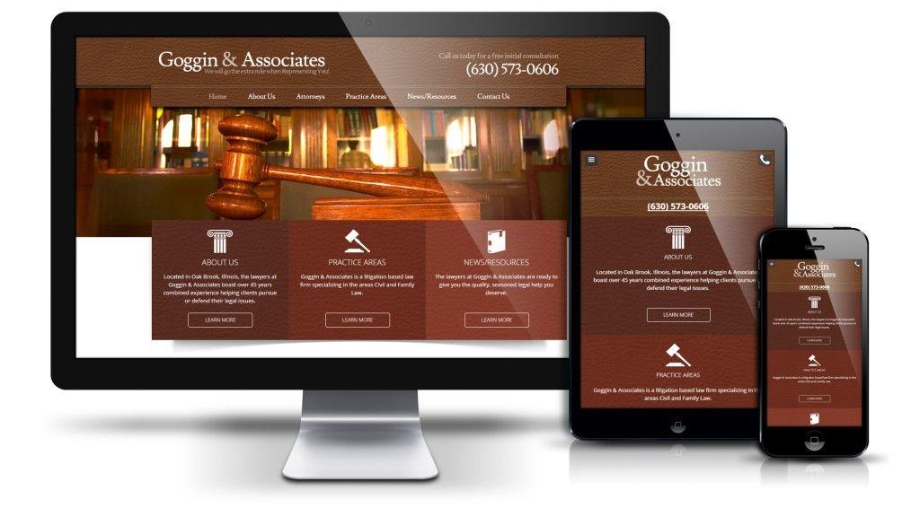 Goggin And Associates Web Design Web312 Chicago Il Web Design Websites Web Design Design