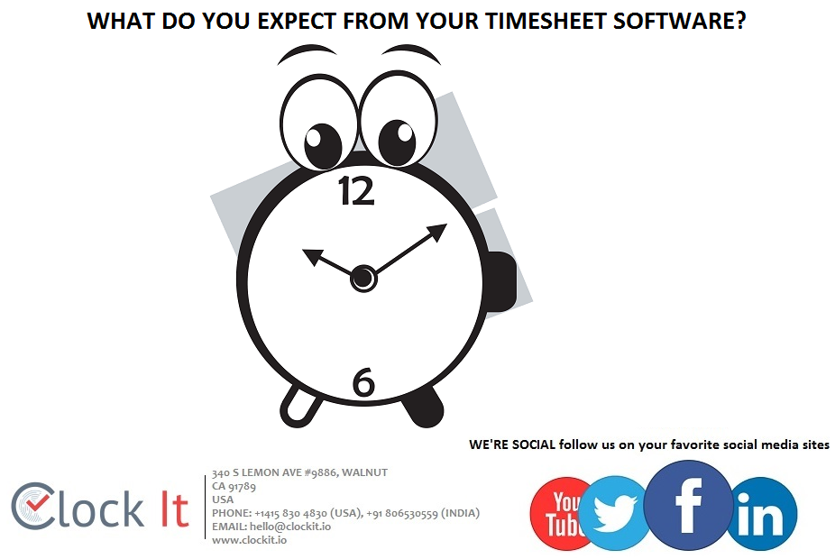 Now-a-days, every businessman buys an expensive timesheet software