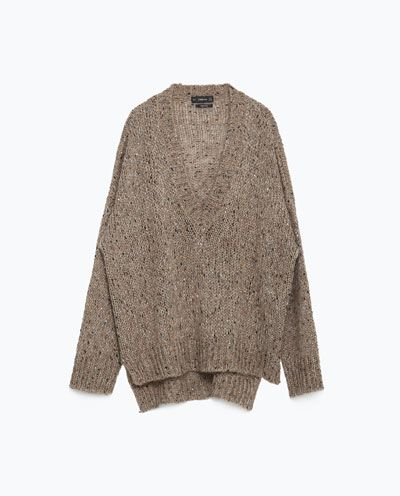 Image 8 of SEQUINNED SWEATER from Zara