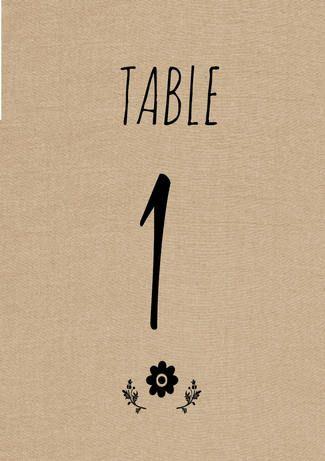 Free Printable Rustic Diy Table Number Download Table