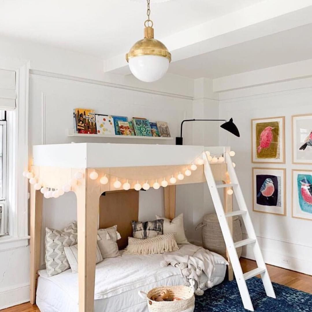 Room Inspiration When You Have Twins Or Children Of Close Age Bunk Beds Like This Oeuf Nyc Made Of Shared