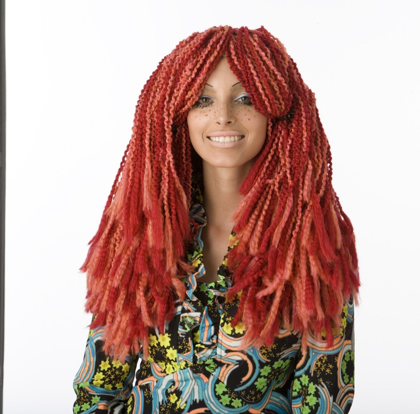 Wild Wild Red Wig Pattern (Crochet) | Crochet | Pinterest