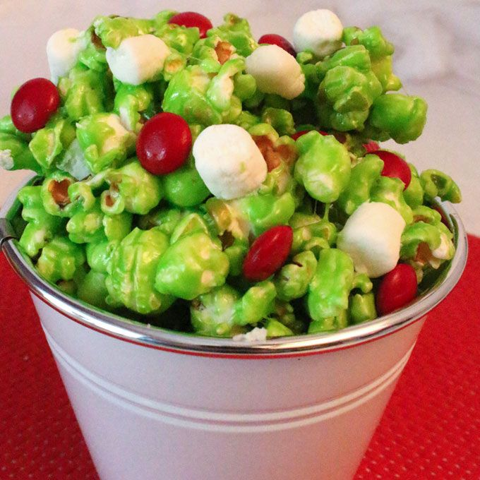 How The Grinch Stole Christmas Party Ideas Part - 18: Grinch Popcorn | Recipe | Grinch Stole Christmas, Family Movies And Grinch