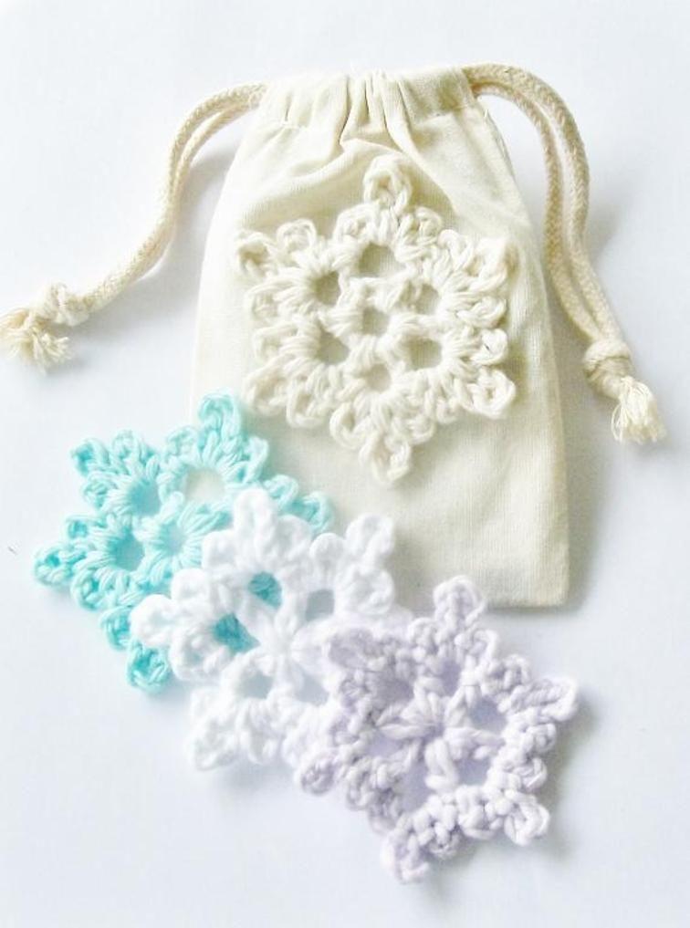 Easy Crochet Snowflake Crochet Projects Pinterest Crochet
