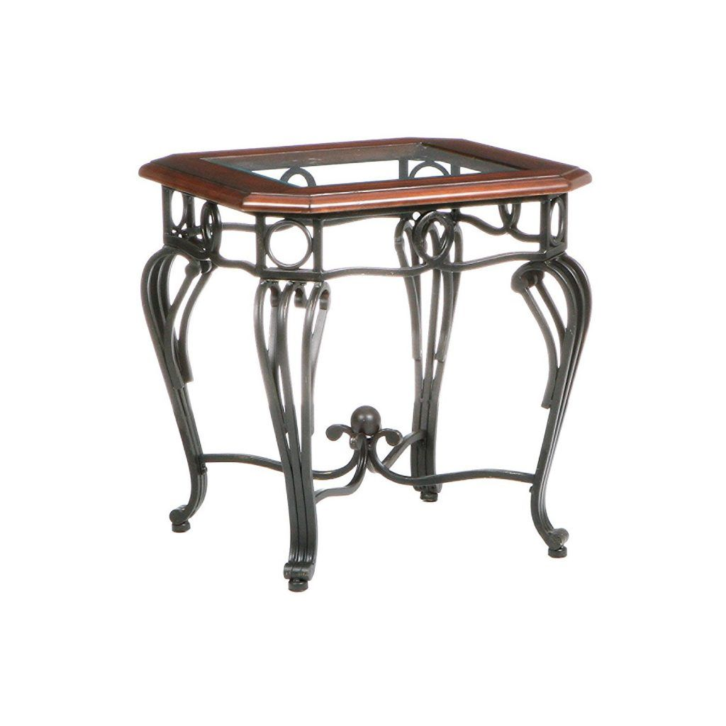 Wrought Iron End Tables With Glass Tops Choosing End Tables - Glass tops for bedroom furniture