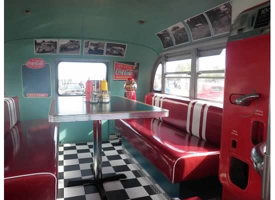 Inside Of A Remodeled School Bus With Images Bus Remodel