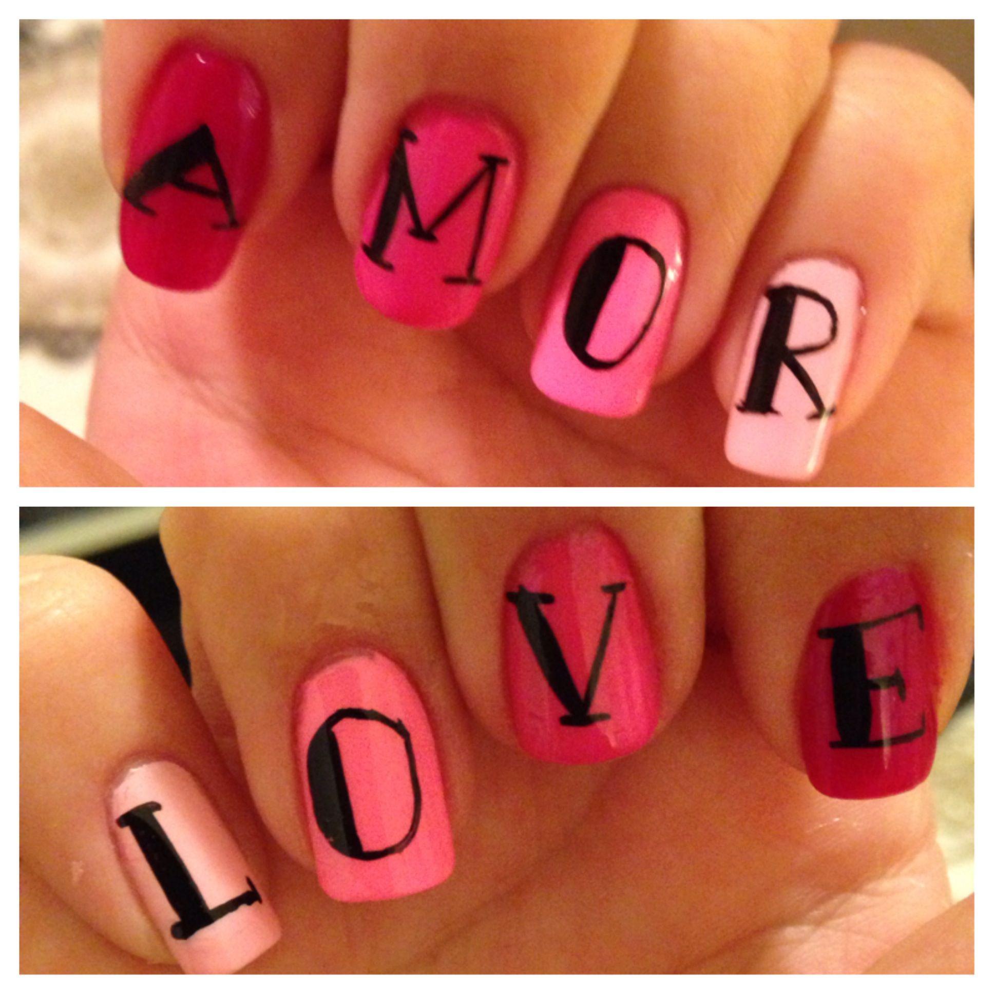 adoro as unhas e as palavras