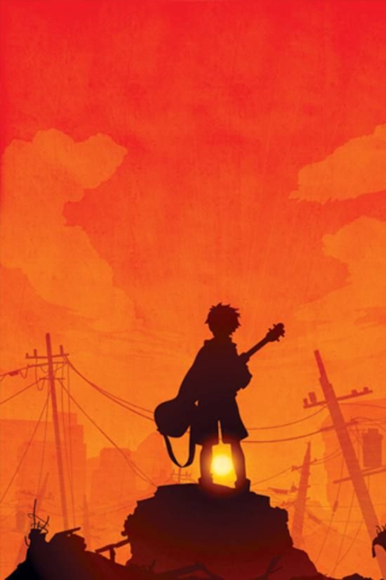 Guitar Girl Silhouete Wallpaper Iphone 40 Beautiful Manga Anime Wallpapers For Iphone Backgrounds