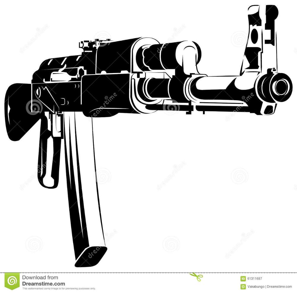 Pin Na Doske Assault Rifles Pistol Tattoos Bullets