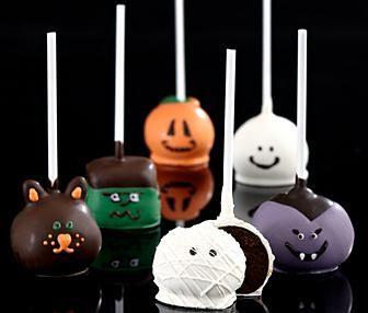 Halloween brownie pops from blog.couponalbum.com