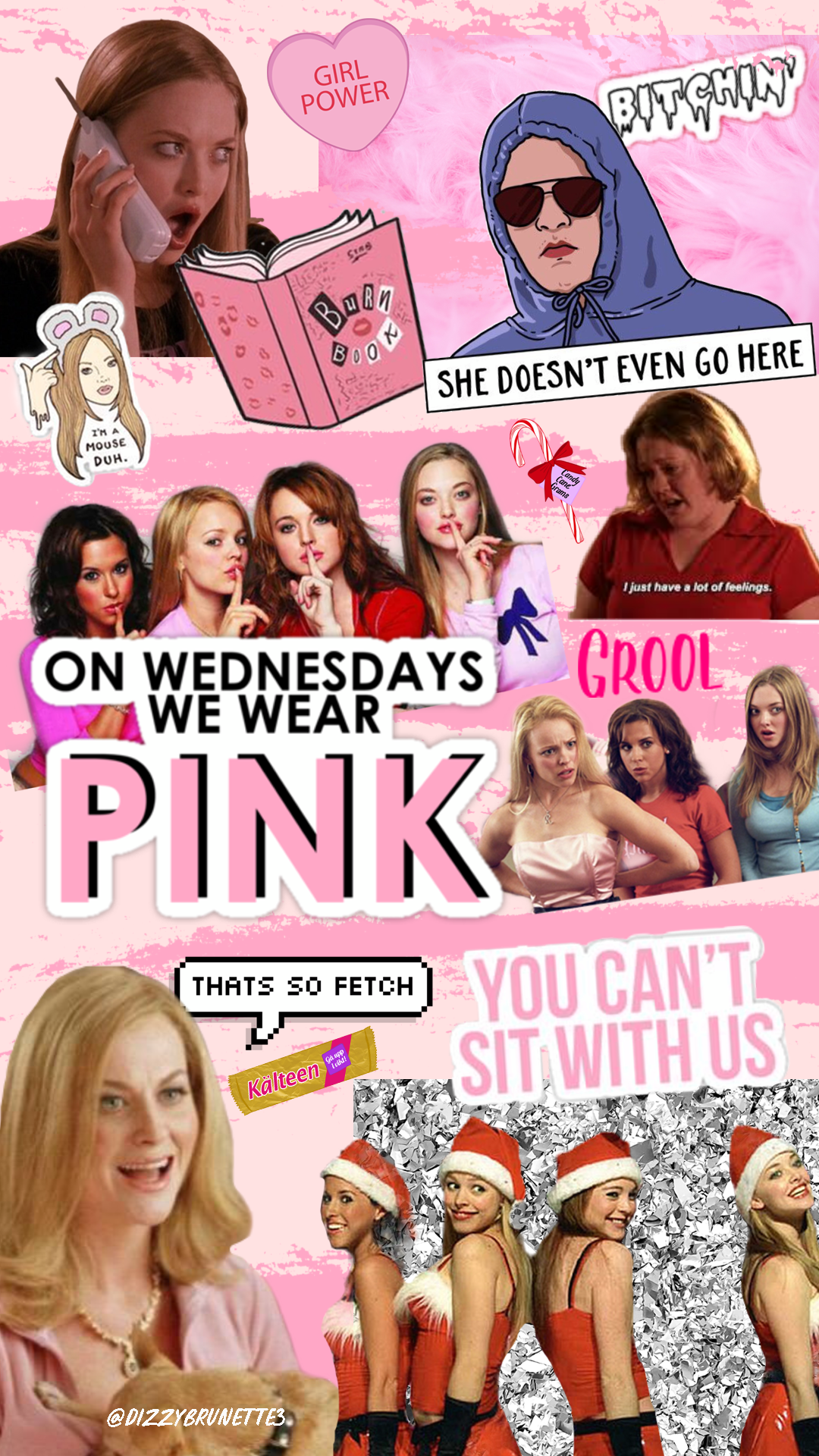 Free Mean Girls Wallpapers for Mean Girls Day - Corrie Bromfield