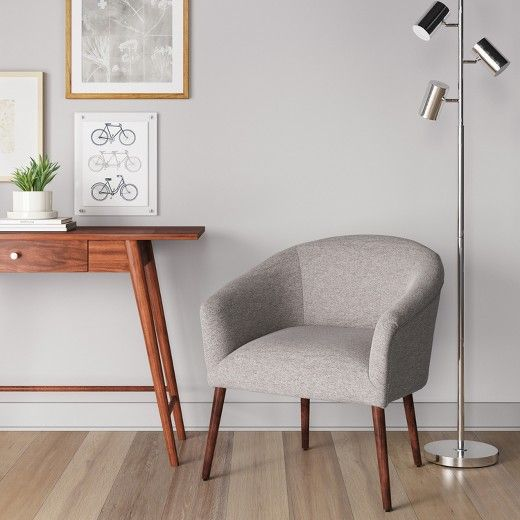 Modern Style Meets Comfortable Design In The Barrel Chair From