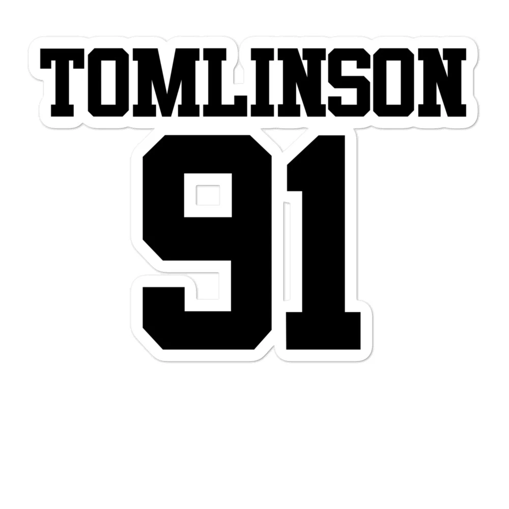 Tomlinson 91 Bubble Free Stickers One Direction Drawings One Direction Logo One Direction Art