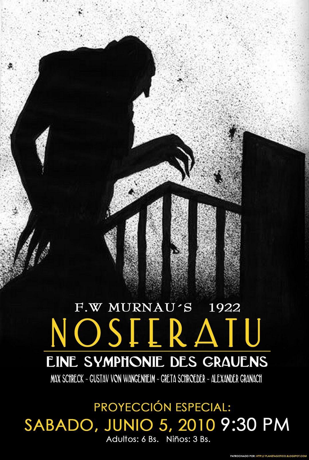 Nosferatu Eine Symphonie Des Grauens Nosferatu A Symphony Of