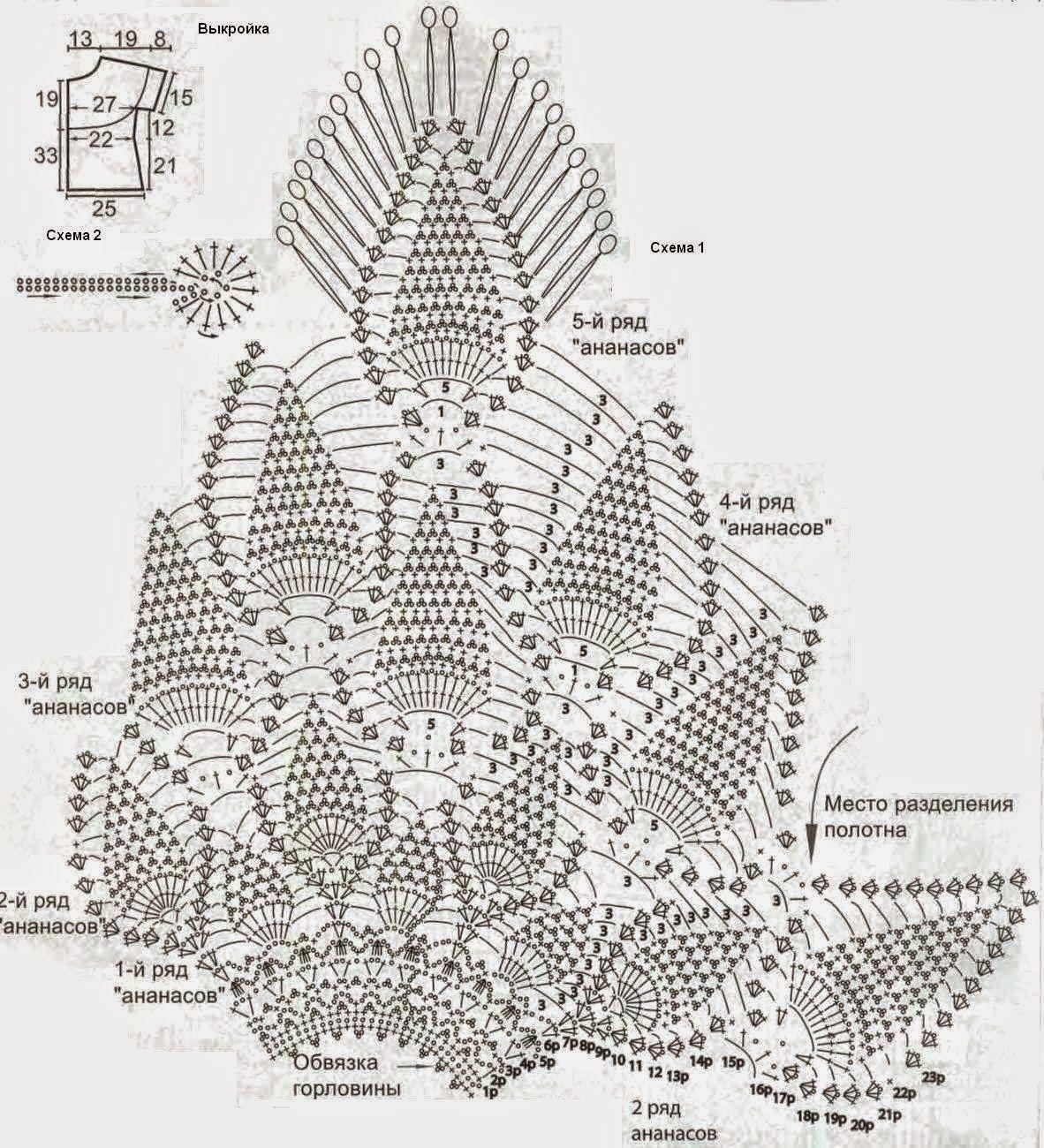 patrones crochet gratis para imprimir - Google Search | Ananasų ...