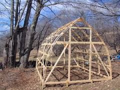 Image result for gothic arch shed greenhouse pinterest for Bow roof shed