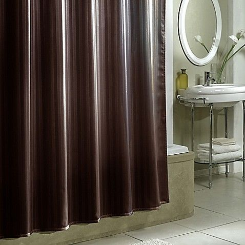 With Your Shower Curtain To Create A More Pleasant Showering Environment The Liners Weighted Hem Reduces Movement And Its Side Suction Cups