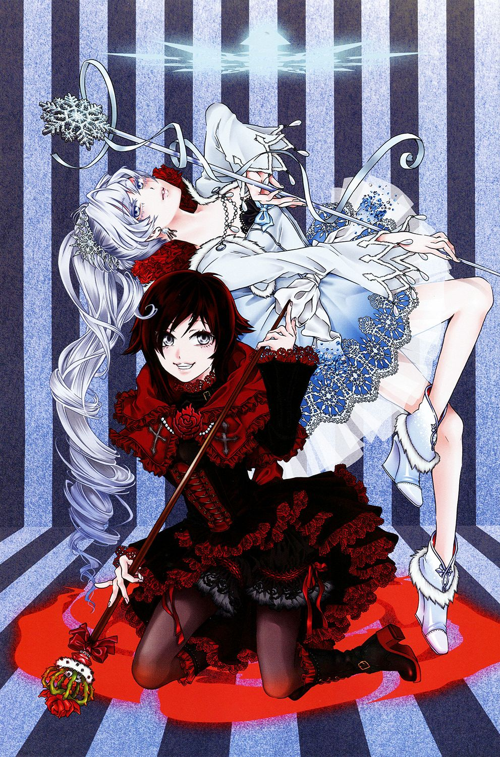 """From RWBY """"Official Japanese Fanbook"""", illustrated by"""