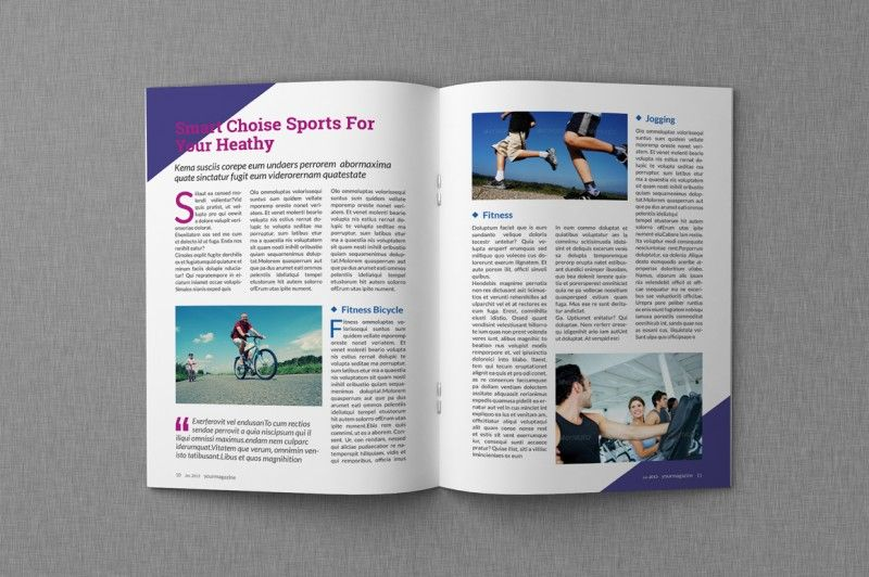 Magazine Proposal Indesign Templates Dealjumbo Com Discounted Design Bundles With Extended License Magazine Template Indesign Templates Business Template