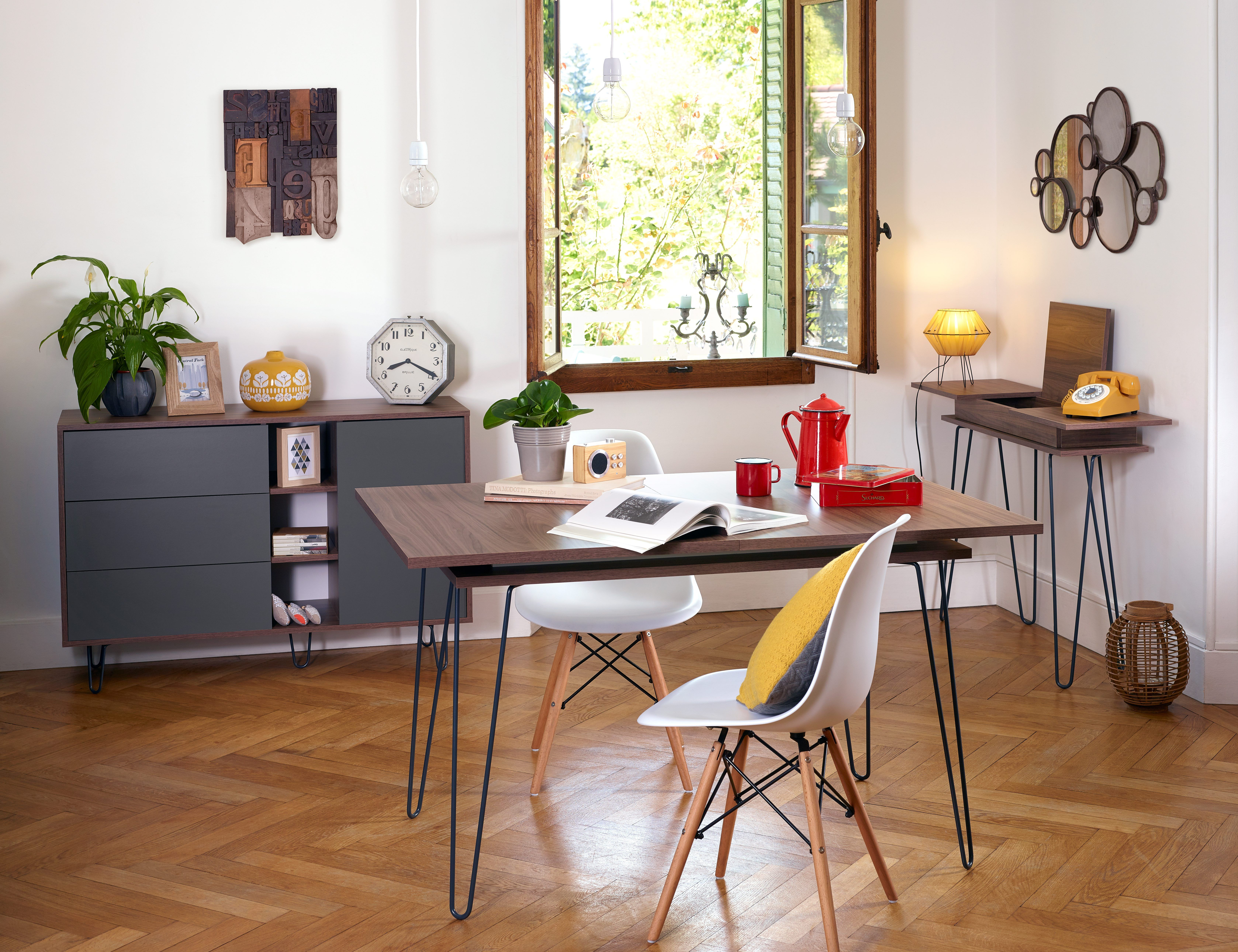ambiance celborn noyer but table a manger extensible table a manger pin table salle a manger