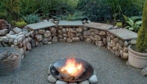 Firepit seating