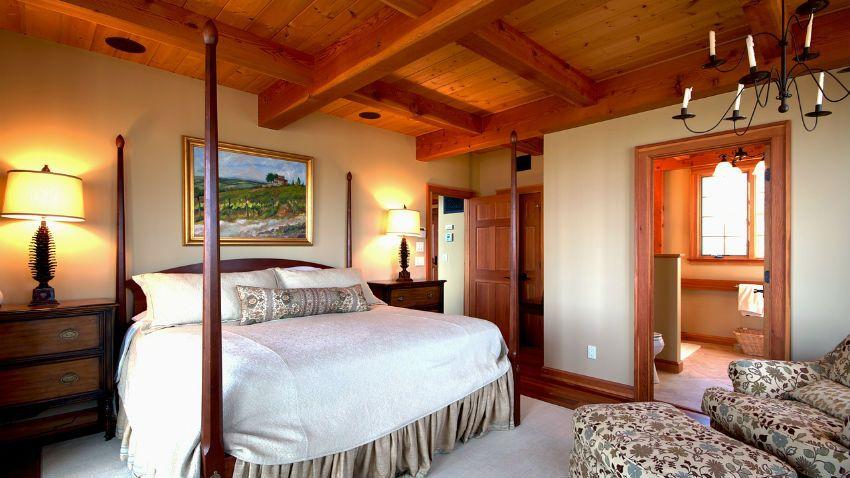 Dormitorios r sticos acogedores marcela policarpa for Dormitorios matrimoniales rusticos