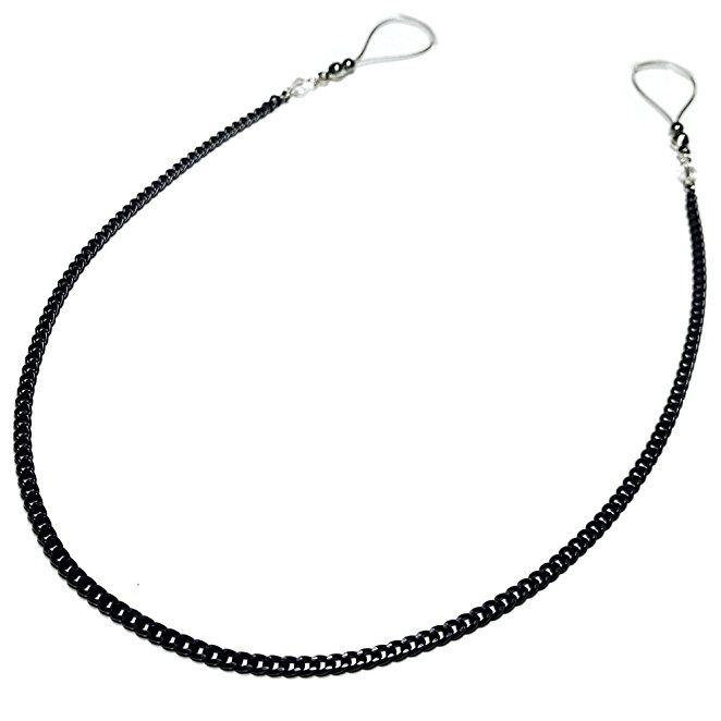 Nipple Jewelry Noose Showgirl Black Chain Hematite Adjuster Non Piercing  Unpierced Non-Pierce b9b6a362a9f0