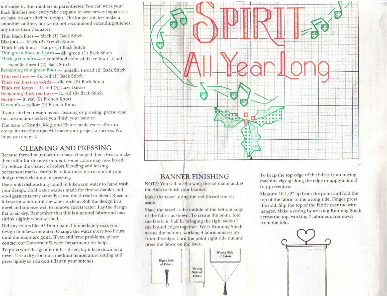 Schema punto croce Christmas Spirit 03