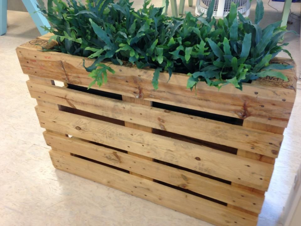 Goede Plantenbak van pallets | Tuin pallet, Plantenbak, Diy plantenbakken DZ-78
