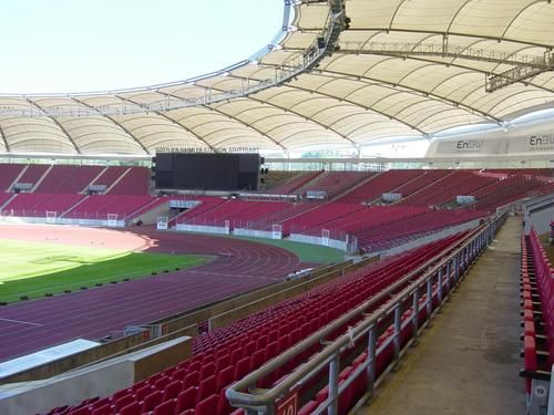 Gottlieb Daimler Stadium Stuttgart Roof Detail With Images