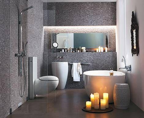 Badbeleuchtung, Bad, Beleuchtung, Licht, Lampe, Foto tdx/Geberit - lampen fürs badezimmer