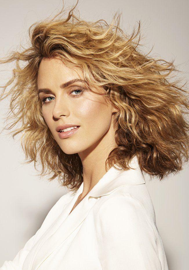 Inspiration coiffure : les plus belles coupes de cheveux mi-longs | Cheveux ondulés, Coupe ...