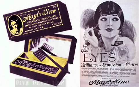 1920s Ad For Maybelline Mascara Alysia Palacios Flappers - 1920s-makeup-ads