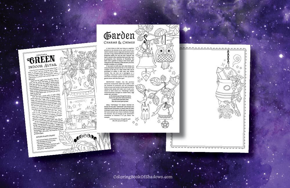 Witch Life | Book of shadows, Coloring books, Witchcraft books