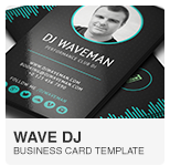 Prodj dj producer business card psd template dj business cards wave dj business card psd template reheart Choice Image