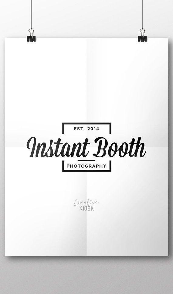 Modern Logo Design Photo Box Logo Psd File Template Instant Modern Logo Design Beautiful Logos Design Modern Logo