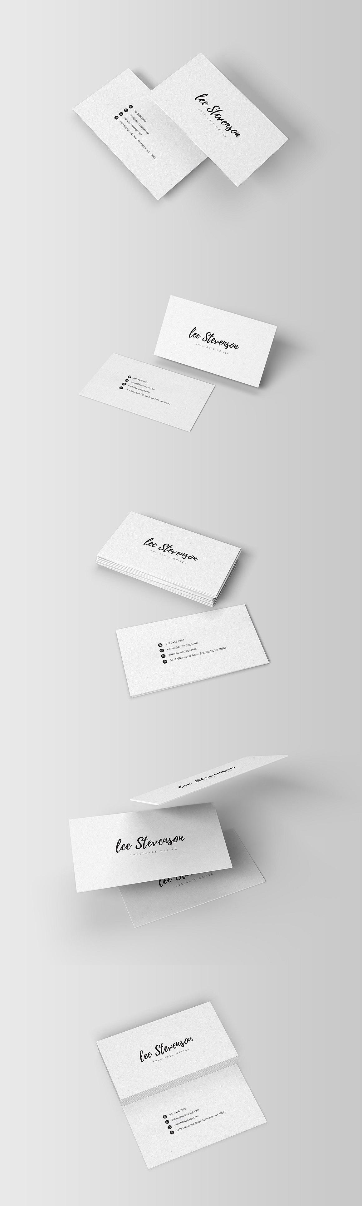 Freelancer business card template ai psd business card templates freelancer business card template ai psd cheaphphosting Images