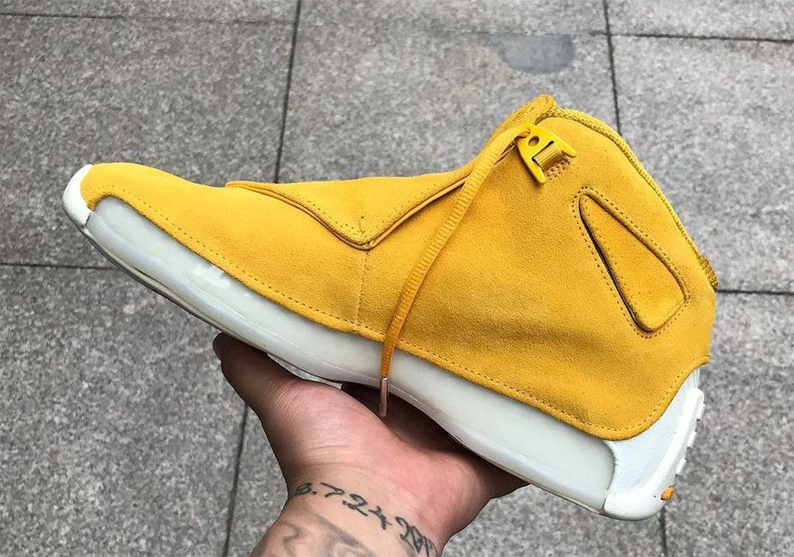 air jordan 18 retro yellow suede