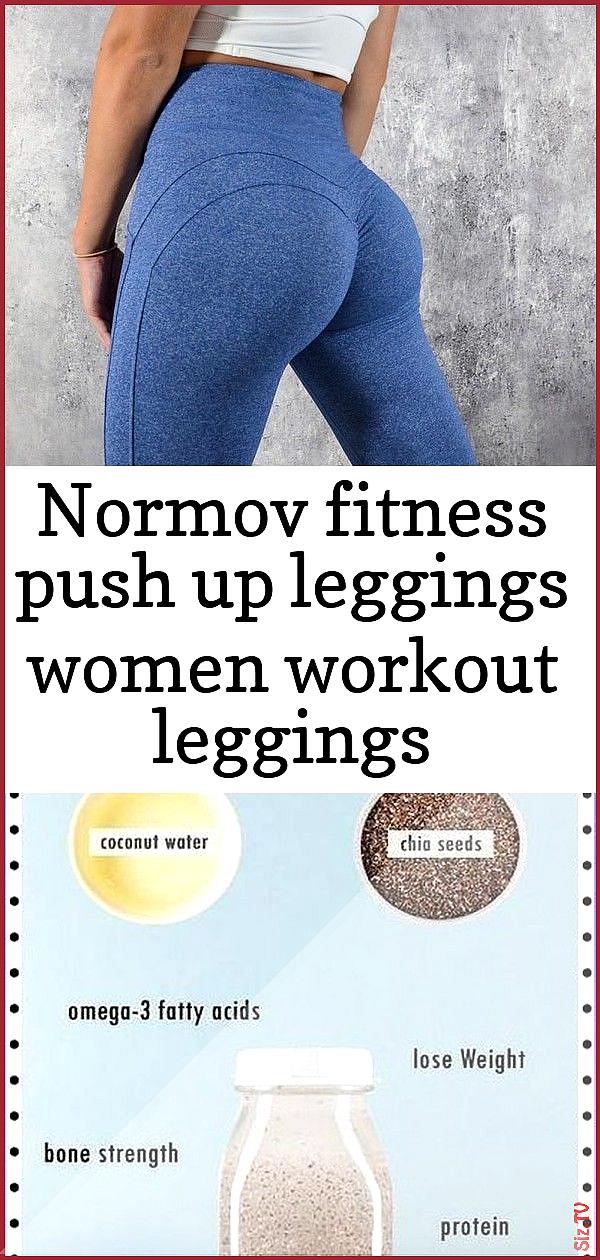 Normov fitness push up leggings women workout leggings activewear high waist leggins female breath 1...
