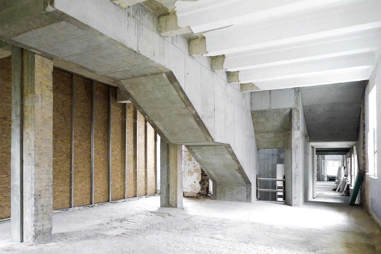 Beton ist kunst @sb5_sichtbeton GeoMuseum zeitgenössische ...