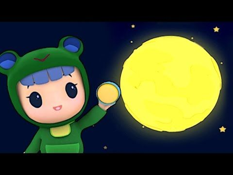 Rubi & Yoyo Animated | Moon Ni Ela Chesdham | Rubi And Yoyo
