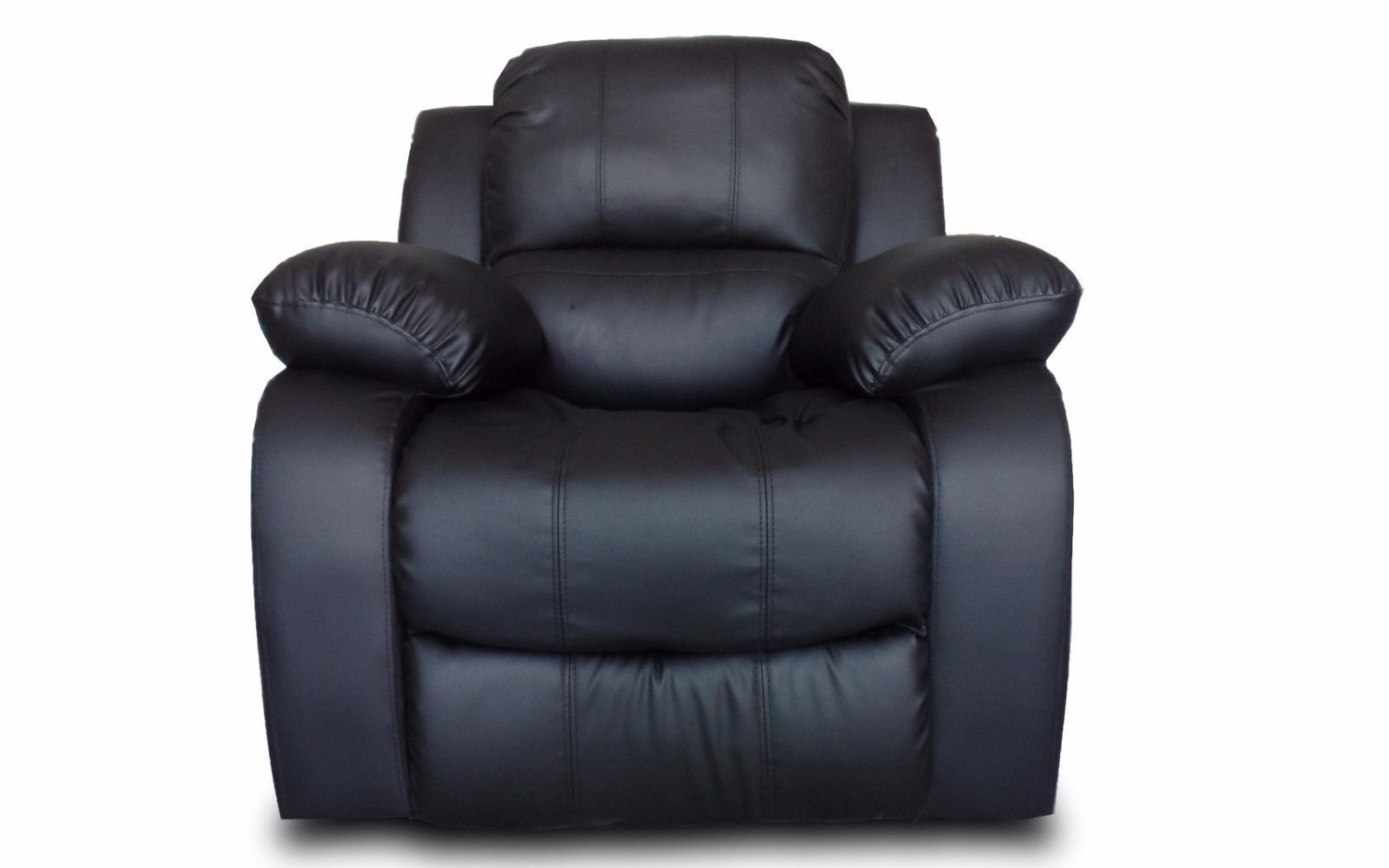 Bob Classic Bonded Leather Recliner Chair Recliner And
