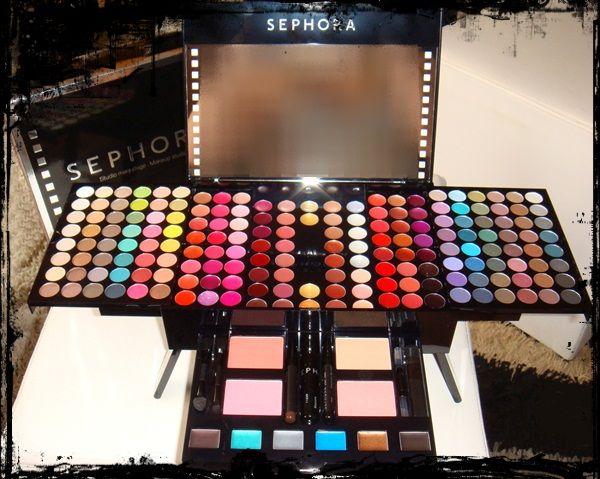 Pics of : Kit Sephora De Maquiagem Makeup Studio Blockbuster Palette