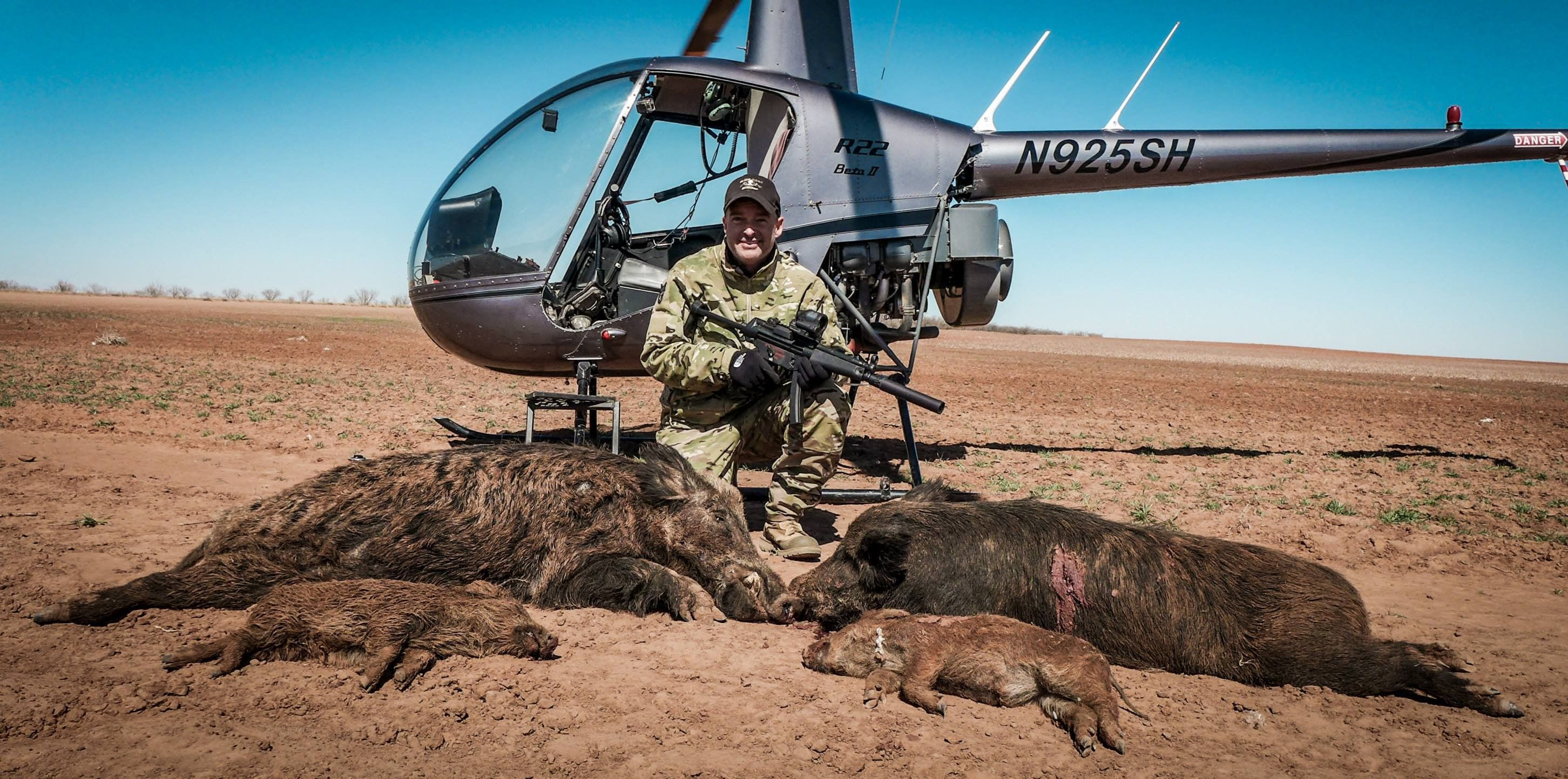 Pork Choppers Aviation The Best Helicopter Hog Hunting In Texas