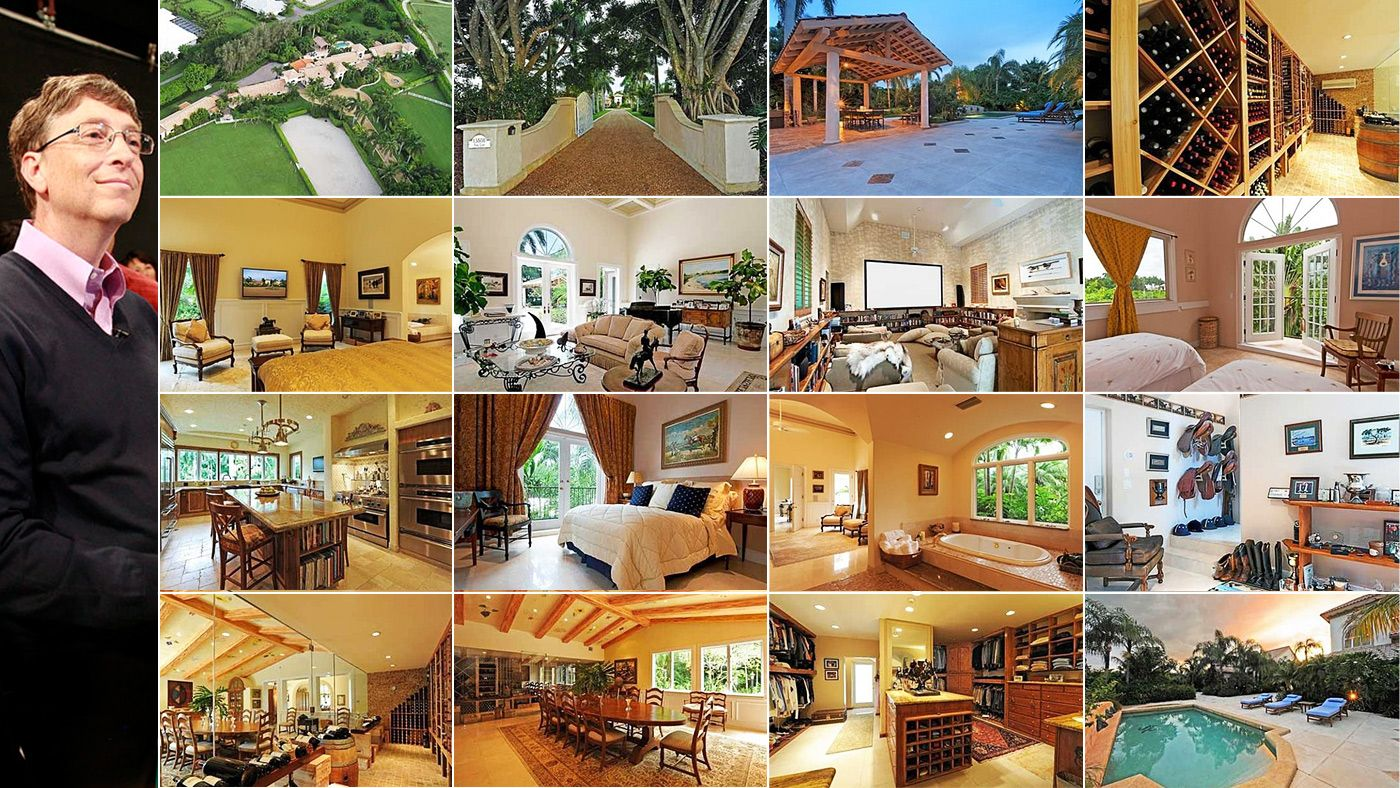 Delicieux Celebrity Home Inside Of Tour Bill Gates | Bill Gates U2013 $147.5 Million