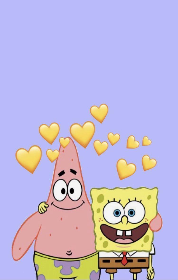 Pin En El Fondo De Pantalla Spongebob Cartoon Wallpaper Iphone Wallpaper Iphone Cute Spongebob Wallpaper