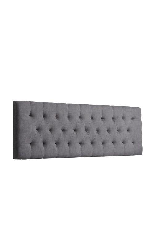 Pehmustettu sängynpääty. Päällinen puuvillakanvaasia. Kiinnitetään seinään. Runko MDF-levyä, täyte vaahtomuovia. Korkeus 61,5 cm, leveys 185 cm, syvyys 7,5 cm. Rahtipaino 35 kg.<br><br>Tarkista rahtimaksu Toimitus-välilehdeltä. Tarkista rahtimaksu Osto-oppaasta.<br><br>100% puuvillaa